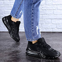 Жіночі кросівки Fashion Person 1729 36 розмір 23 см Чорний, фото 2