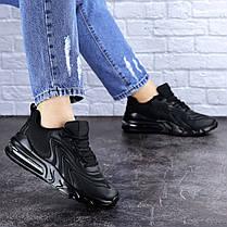 Жіночі кросівки Fashion Person 1729 36 розмір 23 см Чорний, фото 3