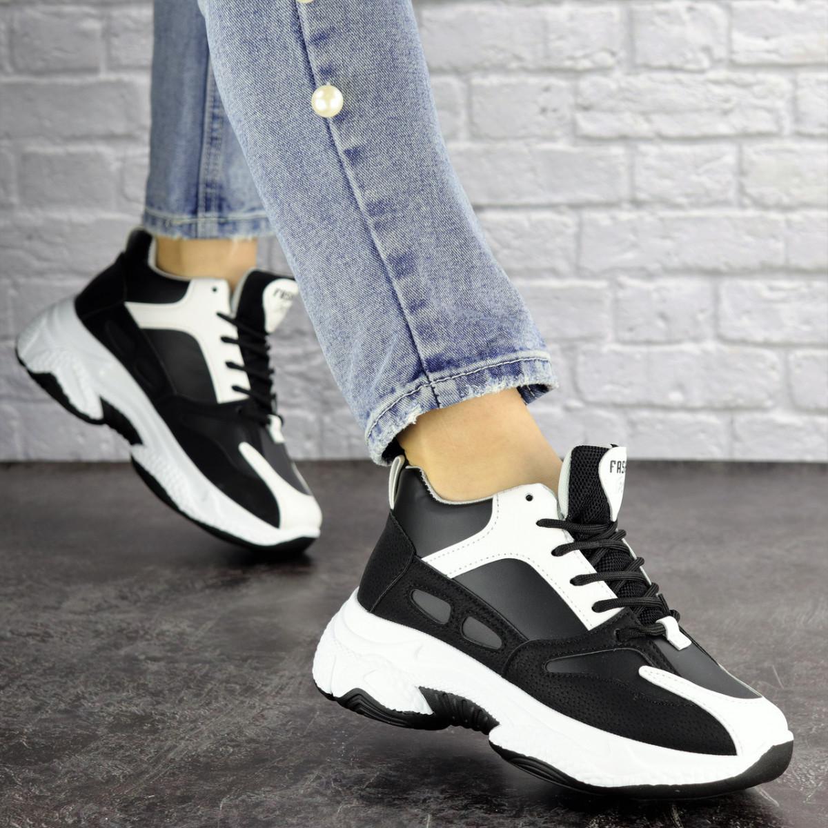 Женские кроссовки Fashion Rafael 1373 37 размер 23 см Черный