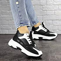 Женские кроссовки Fashion Rafael 1373 37 размер 23 см Черный, фото 3