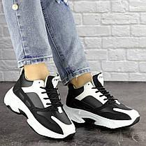 Женские кроссовки Fashion Rafael 1373 37 размер 23 см Черный, фото 2