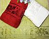 Лицевые турецкие полотенца Пион Бордо, фото 2