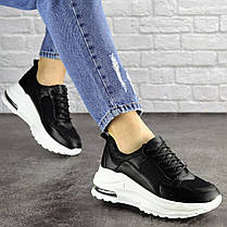 Женские кроссовки Fashion Towser 1677 37 размер 23,5 см Черный, фото 2