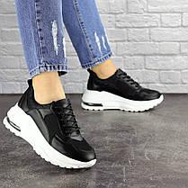 Женские кроссовки Fashion Towser 1677 37 размер 23,5 см Черный, фото 3