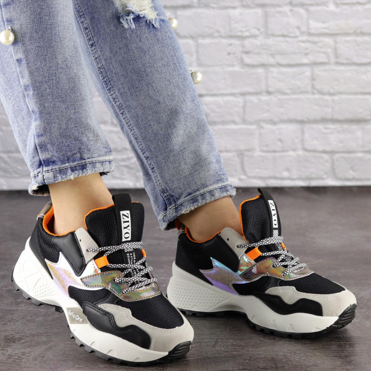 Жіночі кросівки Fashion Ulysse 1493 36 розмір 23 см Чорний