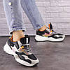 Жіночі кросівки Fashion Ulysse 1493 36 розмір 23 см Чорний, фото 4