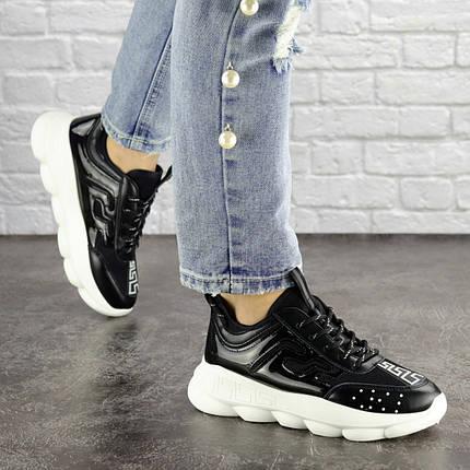 Женские кроссовки Fashion Vince 1679 36 размер 22 см Черный, фото 2