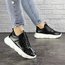 Женские кроссовки Fashion Vince 1679 36 размер 22 см Черный, фото 3