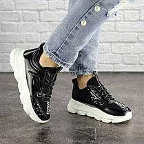 Жіночі кросівки Fashion Vince 1679 36 розмір 22 см Чорний, фото 2