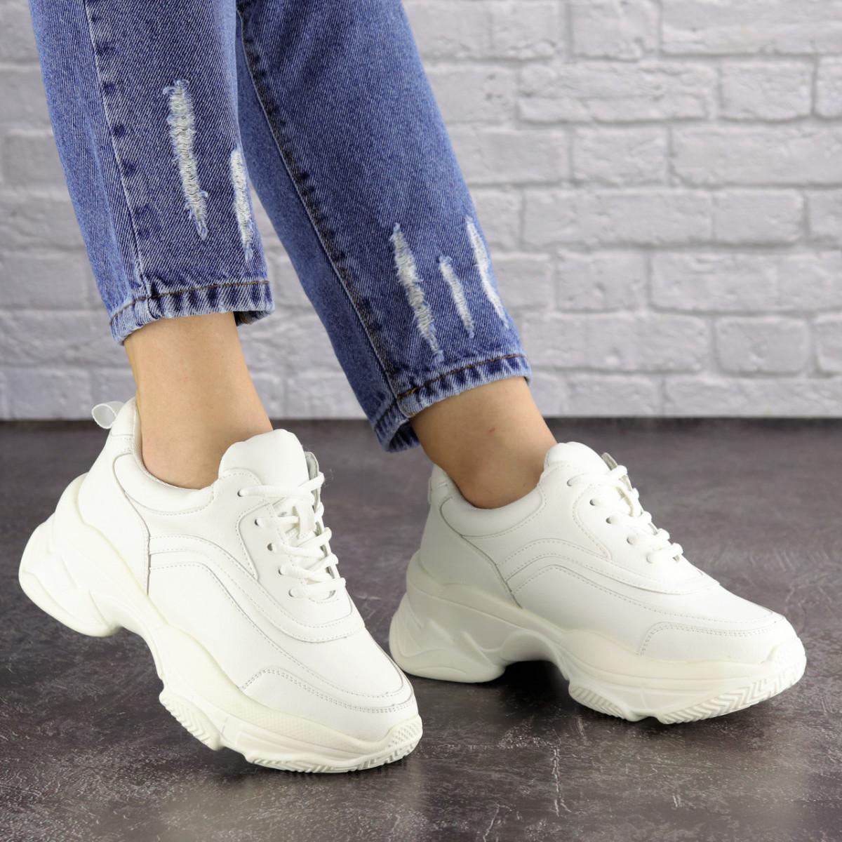 Жіночі кросівки Fashion Vixen 1683 38 розмір 23,5 см Білий