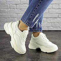 Жіночі кросівки Fashion Vixen 1683 38 розмір 23,5 см Білий, фото 3