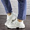 Жіночі кросівки Fashion Yandy 1682 37 розмір 22,5 см Білий, фото 3