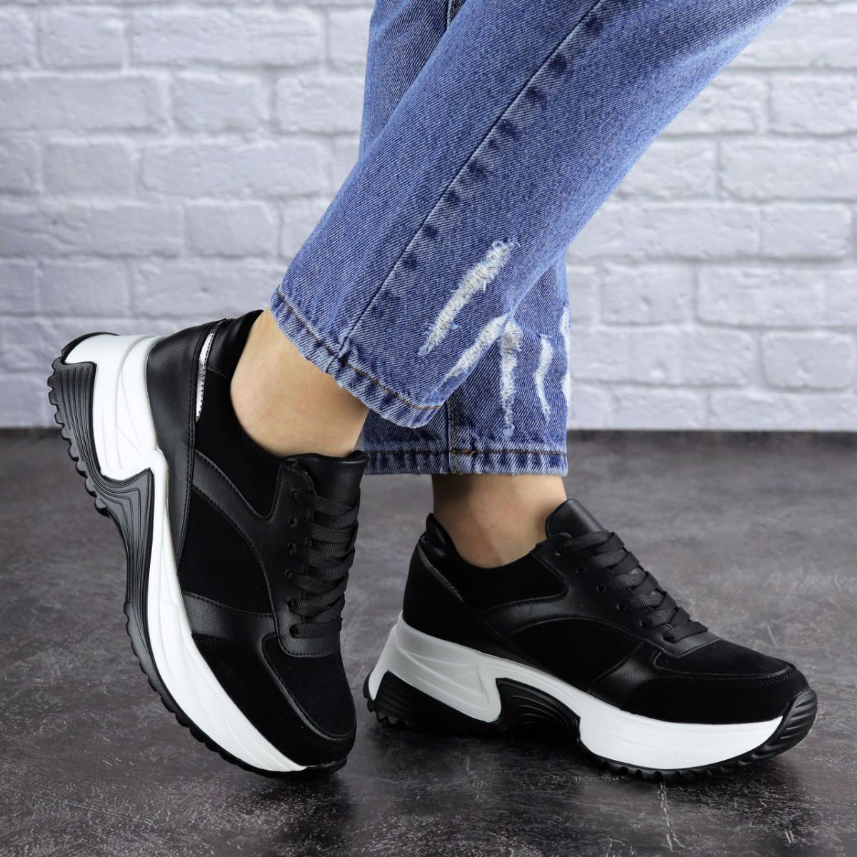 Женские кроссовки Fashion Zachary 1378 36 размер 23 см Черный