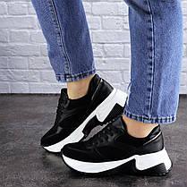 Женские кроссовки Fashion Zachary 1378 36 размер 23 см Черный, фото 3