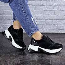 Женские кроссовки Fashion Zachary 1378 36 размер 23 см Черный, фото 2