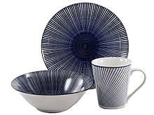 Набор посуды Interos Космо blue 3 предмета (CLW-5)