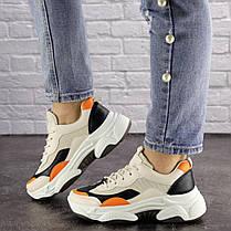 Жіночі кросівки Fashion Bailey 1576 36 розмір 22,5 см Бежевий, фото 3