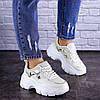 Женские кроссовки Fashion Braxton 1742 39 размер 24 см Бежевый, фото 4