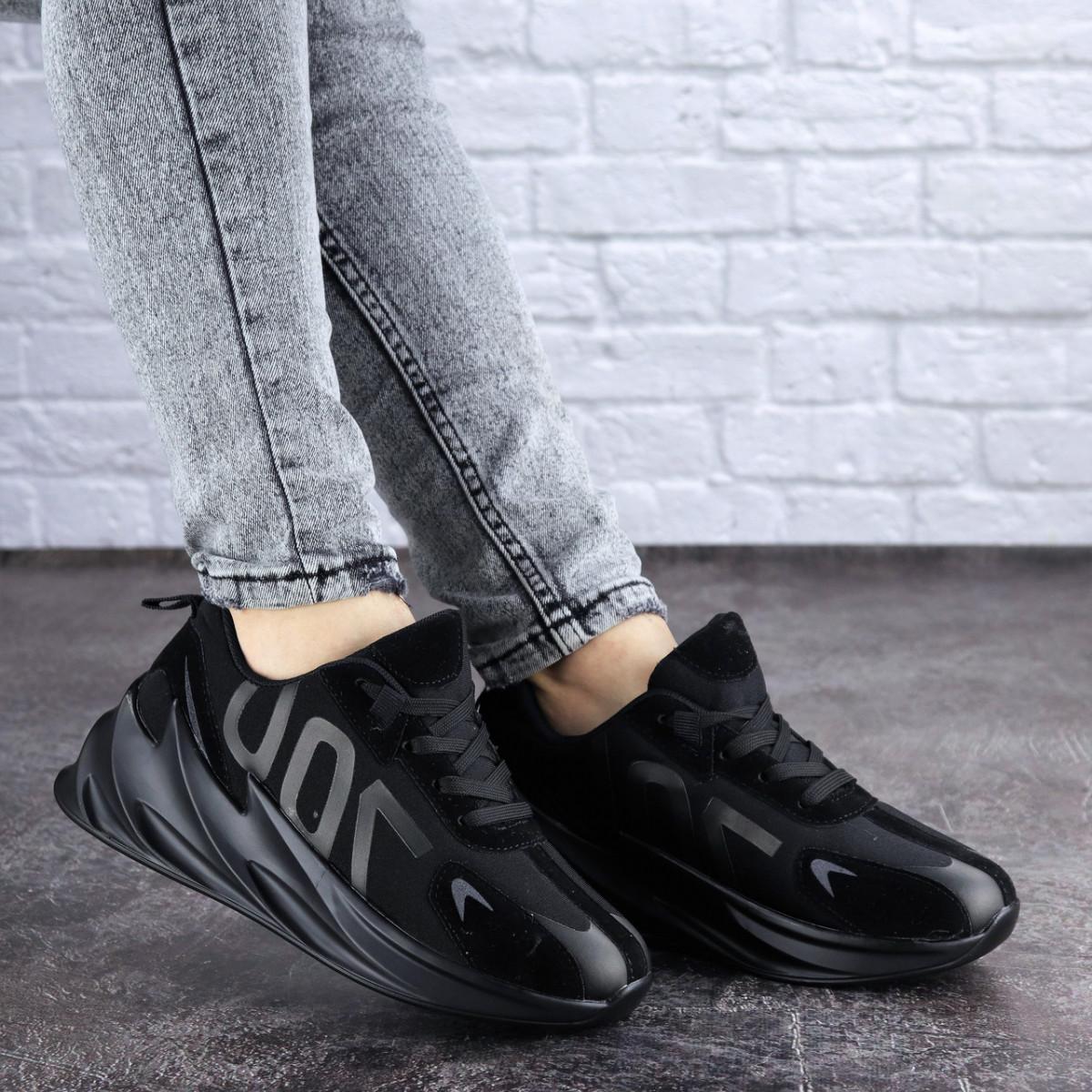 Женские кроссовки Fashion Bro 1999 37 размер 23,5 см Черный