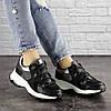 Жіночі кросівки Fashion Bruiser 1659 36 розмір 23 см Чорний, фото 4
