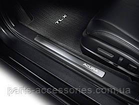 Acura TLX 2014-16 накладки на дверные пороги с подсветкой LED новые оригинальные