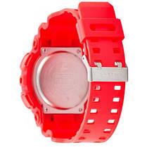 Часы Мужские Спортивные GShock  GA-100 Red-Black, фото 2