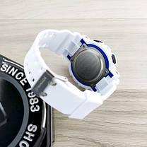Часы Мужские Спортивные  GA-100 White-Blue-Black, фото 3