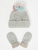 Комплект George шапочка та перчатки 4-6 років