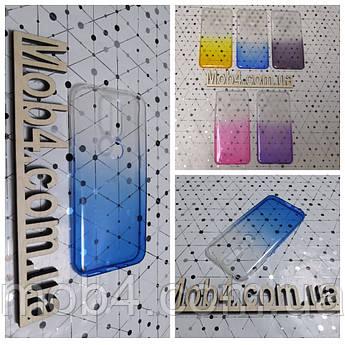 Чехол прозрачный Градиент для Nokia (Нокия) 4.2