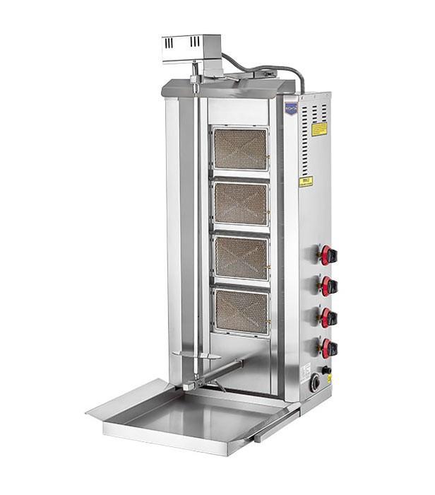 Апарат для шаурми газовий Remta D16 LPG