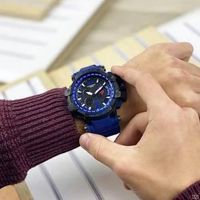 Часы Спортивные GPW-1000 Black-Blue, фото 2