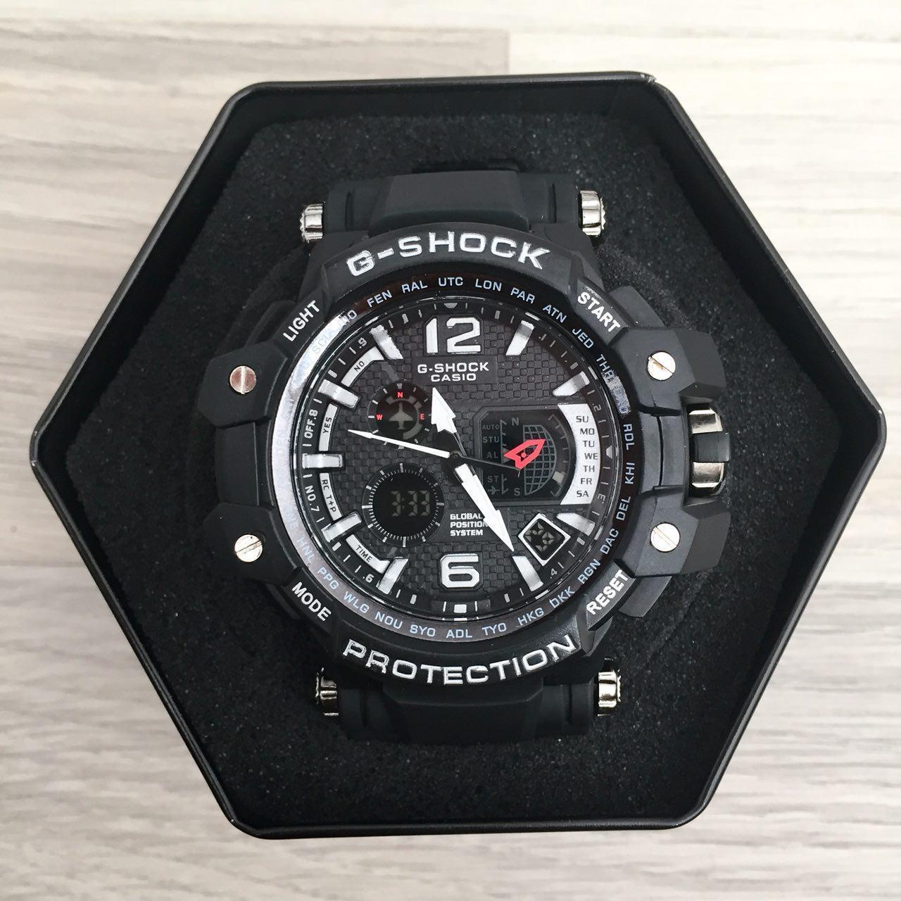 Часы Спортивные  GPW-1000 Black-White