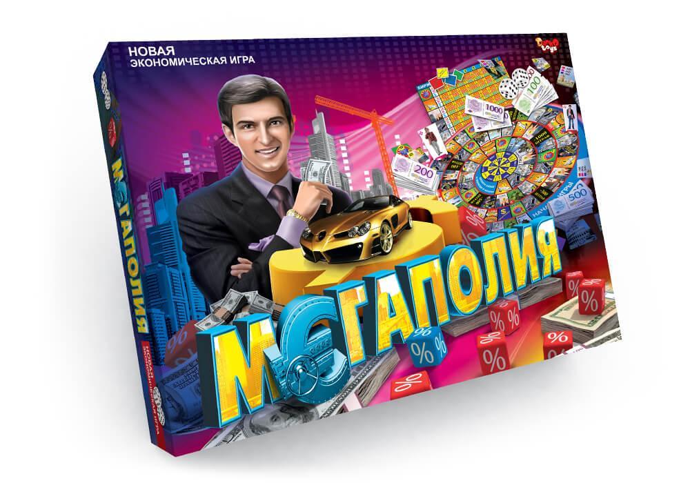 """Новая экономическая игра """"Мегаполия"""""""