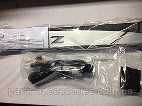 Nissan 370Z 2009-16 накладки на дверные пороги с подсветкой LED новые оригинальные