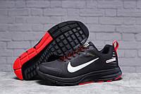 Зимние мужские кроссовки 31431, Nike Shield, черные, [ 41 44 ] р. 44-27,2см. (T7-D)м2