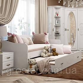 Кровать двухместная Василиса для детской комнаты