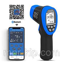 Пірометр HoldPeak HP-985C-APP (-50 ° с до +800 ° с) DS:16:1; EMS:0,1-1,00. Bluetooth