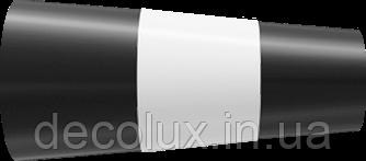 Наконечник на кованый карниз  19 мм  Валео Черный матовий + белый