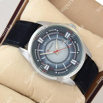 Молодежные наручные часы Curren Gradient 8155 Silver\Blue 1008-0017