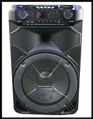 Акустическая система колонки с Bluetooth Rock Music RX-8888 (71х40)