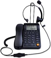 Дротяний телефон IP з ідентифікацією абонента і монофонічної гарнітурою шумозаглушення KerLiTar