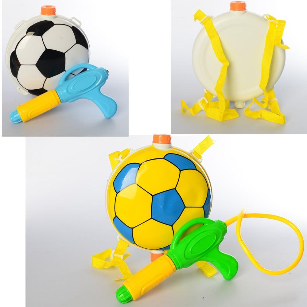 Автомат водяною соро. помпа, 23 см, з балоном на плечі, MR0225