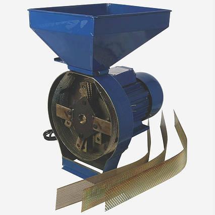 Кормоізмельчітель ДТЗ КР-02К (зерно + качани кукурудзи, продуктивність 200 кг/год)