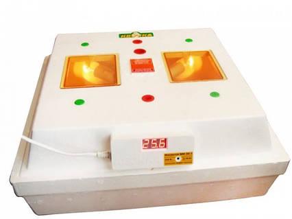 Інкубатор Квочка МІ-30-1 ручний переворот на 80 яєць, вбудований цифровий терморегулятор