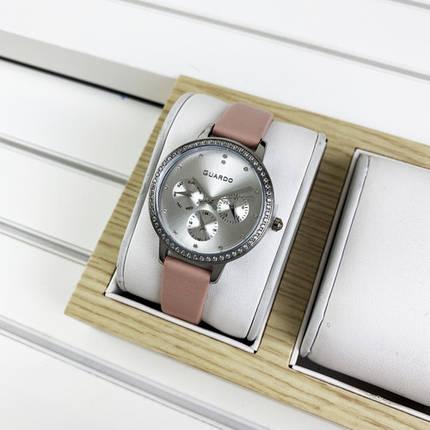 Женские часы Guardo B01340(1)-2 Pink-Silver-Whute, фото 2
