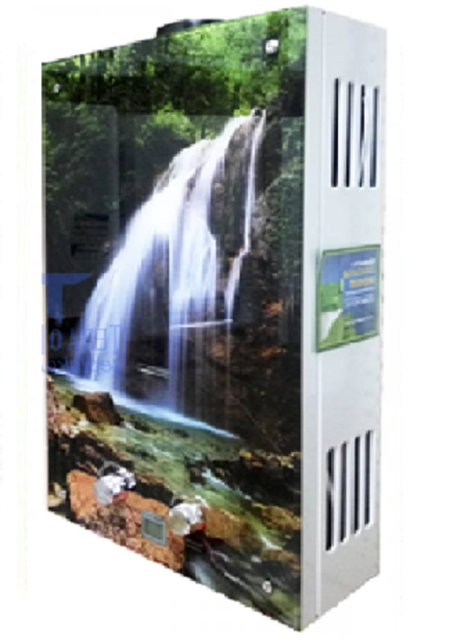 Газова колонка Rocterm ВПГ-10 АЕ (кольорова-водоспад)