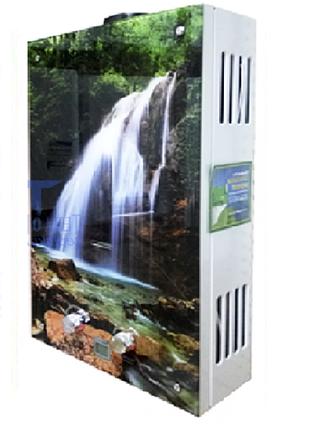 Газовая колонка Rocterm ВПГ-10 АЕ  (цветная-водопад)