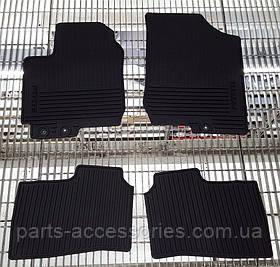 Kia Forte 2009-13 коврики резиновые передние задние новые оригинальные