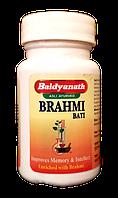 Брами вати, (Брахми вати) для омоложения и улучшения процессов в головном мозге, Brami Vati (80tab)