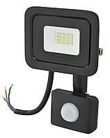 Прожектор LED c датчиком движения Ritar RT- FLOOD/MS 10A 10W IP65 1000Lm Black (01202)